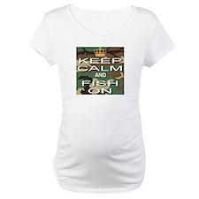 Keep Calm and Fish On Shirt