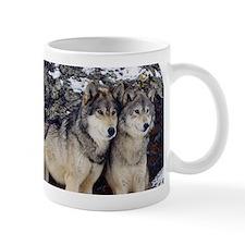 Wolf Couple Mug