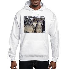Wolf Couple Hoodie