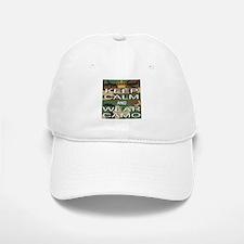 Keep Calm and Wear Camo Baseball Baseball Cap
