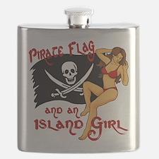 pirate girl Flask