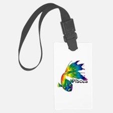 Whimsical Pisces Luggage Tag