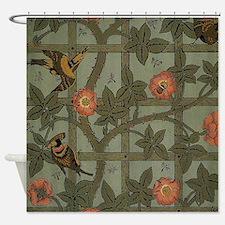 William Morris Trellis Design Shower Curtain