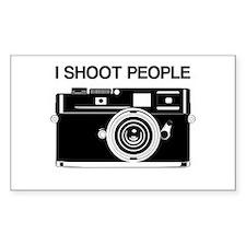 Photographer, I shoot people, Decal