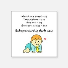 Cheeky Business Plans for a Baby Entrepreneur Stic