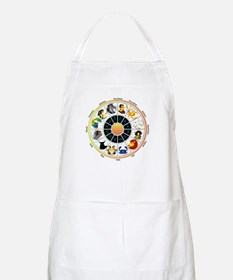 Whimsical Zodiac Wheel Apron