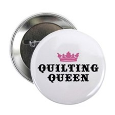 Quilting Queen Button