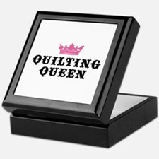 Quilting Queen Keepsake Box