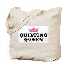 Quilting Queen Tote Bag
