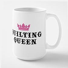 Quilting Queen Large Mug