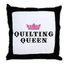Quilting Queen Throw Pillow