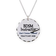Don't Torture Yourself Necklace