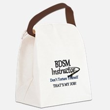 Don't Torture Yourself Canvas Lunch Bag