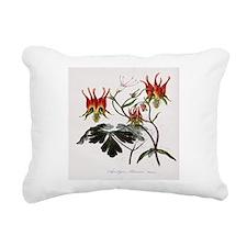 Aquilegia Skinneria Rectangular Canvas Pillow