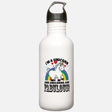 Unicorns Are Fabulous Water Bottle