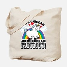 Unicorns Are Fabulous Tote Bag