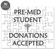 Pre-Med Student - Donations Accepted Puzzle
