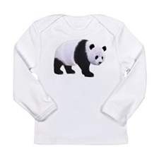 Panda Bear Long Sleeve Infant T-Shirt