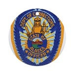 Alaska Corrections Ornament (Round)