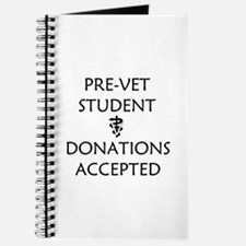 Pre-Vet Student - Donations Accepted Journal