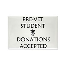 Pre-Vet Student - Donations Accepted Rectangle Mag