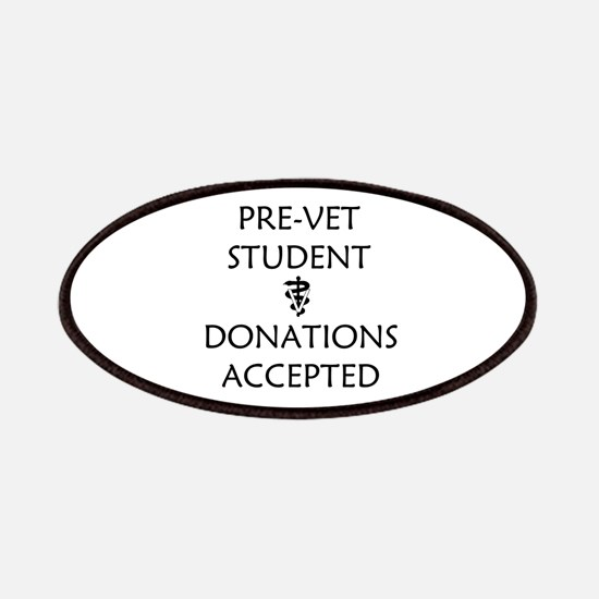 Pre-Vet Student - Donations Accepted Patches
