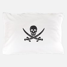 Calico Jack Pirate Pillow Case