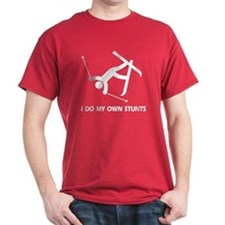 Snow Ski, Skiing Stunts T-Shirt