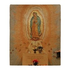 Our Lady of Guadalupe Throw Blanket