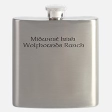 Midwest Irish Wolfhounds Ranch Flask