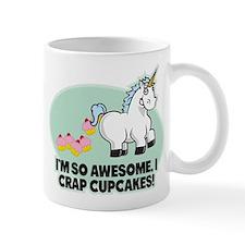 Crapping Cupcakes Small Mug