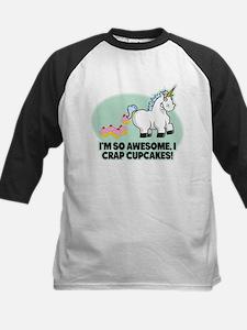 Crapping Cupcakes Baseball Jersey