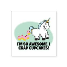 Crapping Cupcakes Sticker