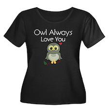Owl Always Love You Plus Size T-Shirt