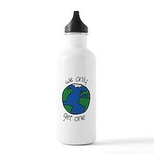 one earth Water Bottle