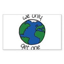 one earth Decal