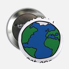 "one earth 2.25"" Button"