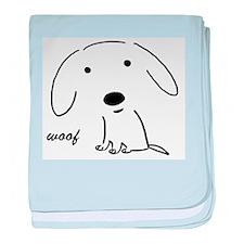 Little Woof baby blanket