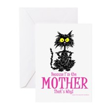 MOTHER'S DAY CAT Greeting Cards (Pk of 10)