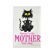 MOTHER'S DAY CAT Rectangle Magnet