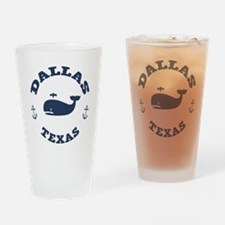 Dallas Whale Excursions Drinking Glass