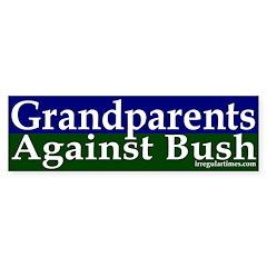Grandparents Against Bush Sticker (Bumpe