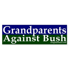 Grandparents Against Bush Bumper Sticker