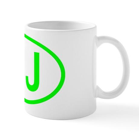 NJ Oval - New Jersey Mug