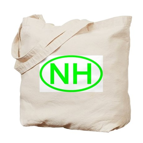 NH Oval - New Hampshire Tote Bag