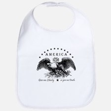 American Eagles Bib