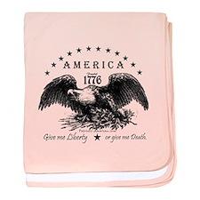 American Eagles baby blanket