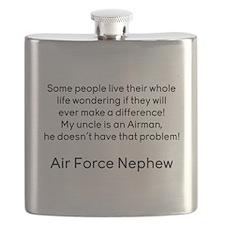 AF Nephew Uncle No Prob Flask