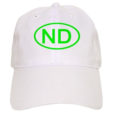 ND Oval - North Dakota Cap