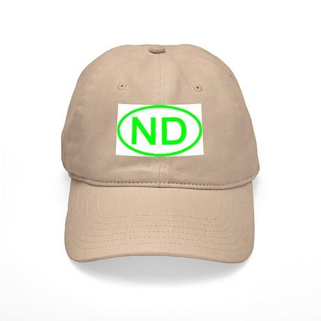 ND Oval - North Dakota Cap